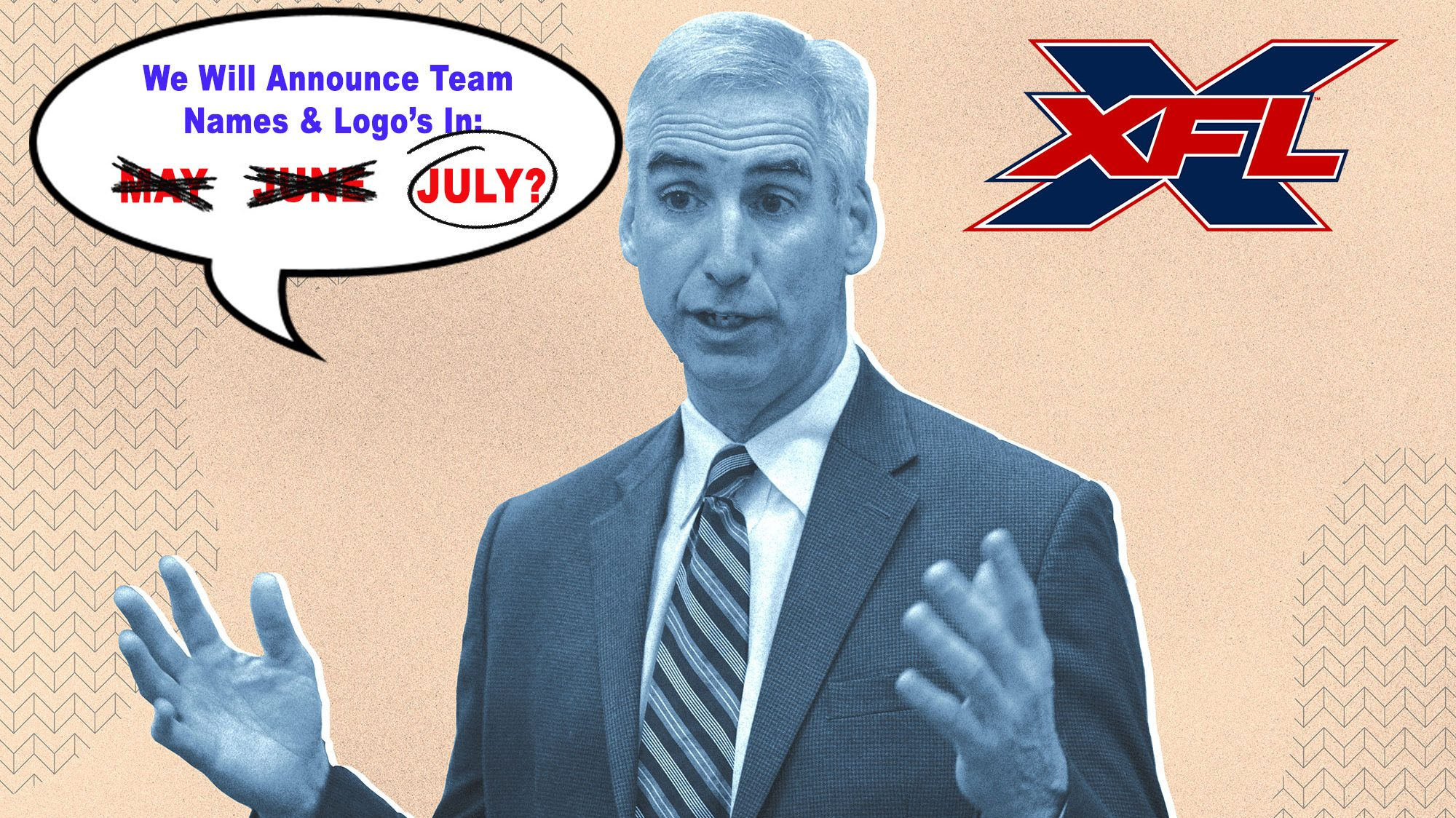 Fan Frustration Over Lack Of XFL Team Names