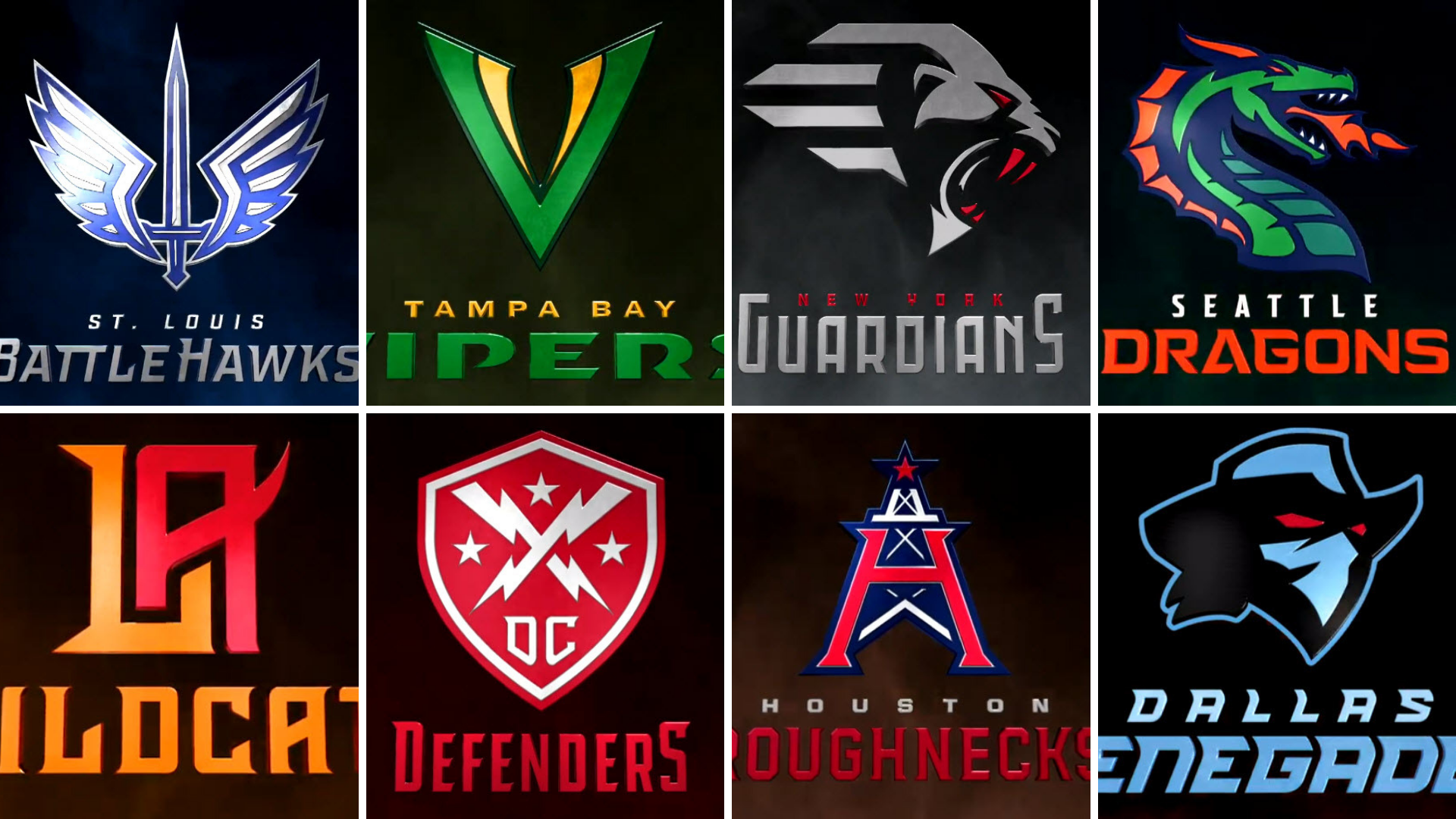 XFL Team Names And Logos Revealed, Recap Of Announcement