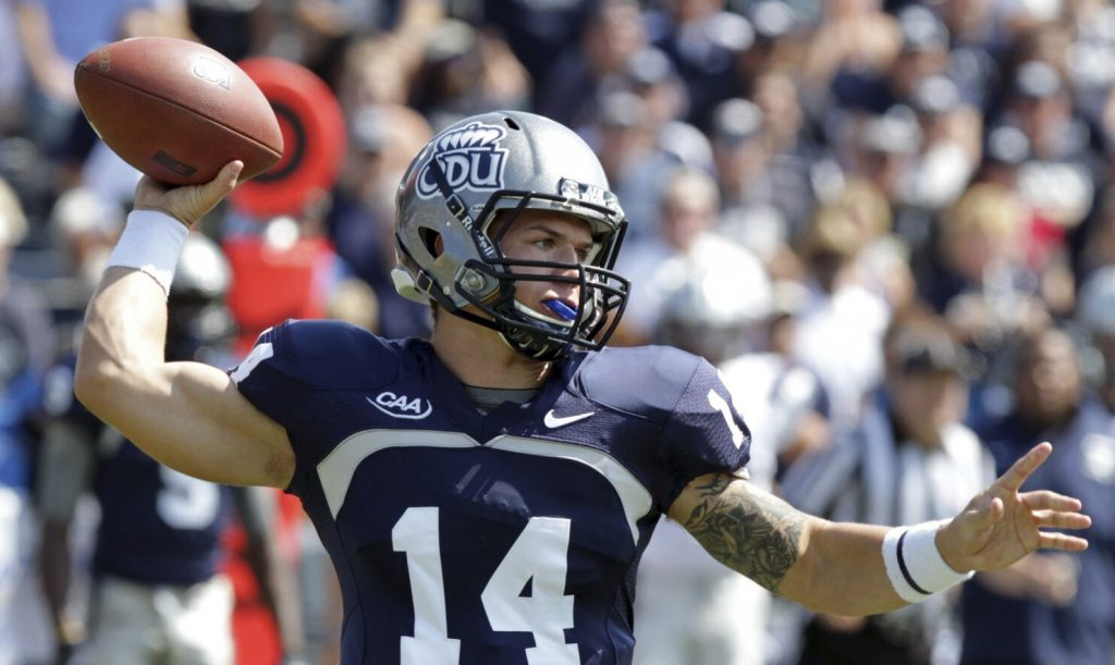 Qb Taylor Heinicke Enters The Xfl Supplemental Draft