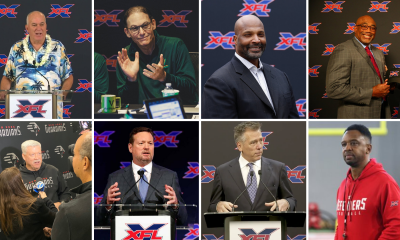 All Eight XFL Head Coaches