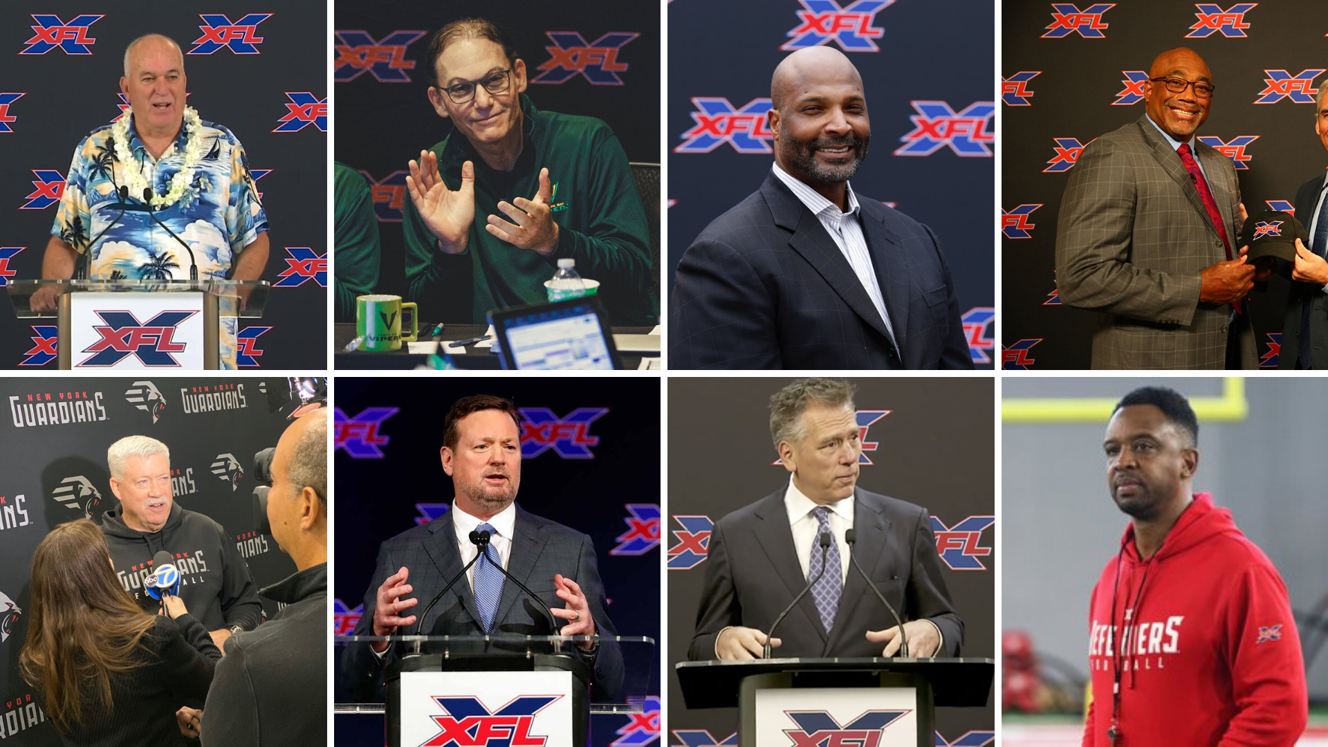 Xfl Coaching Staff Reviews A Look At All Eight Xfl Teams