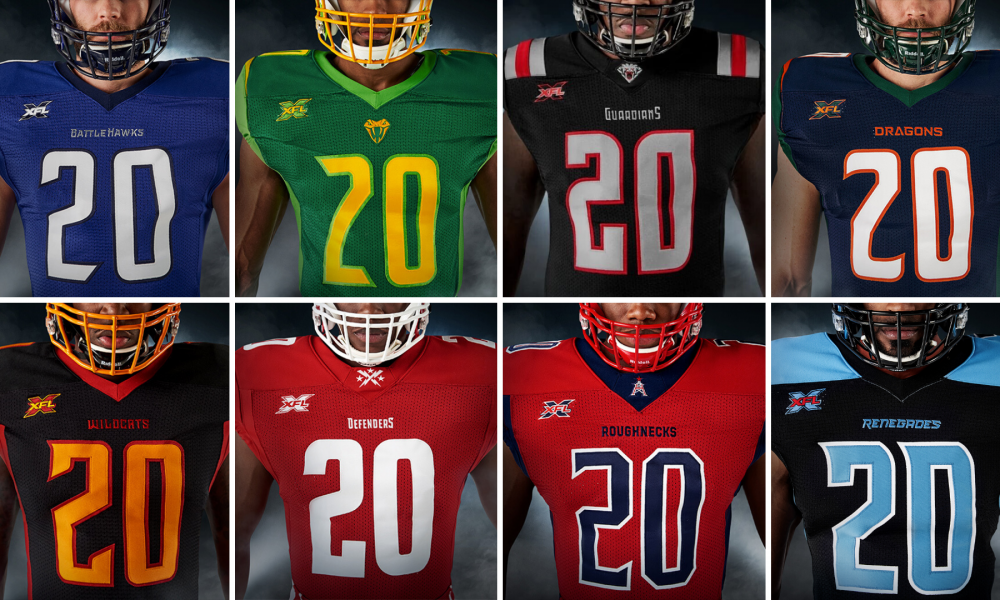 Key Differences Between Jerseys of XFL and NFL