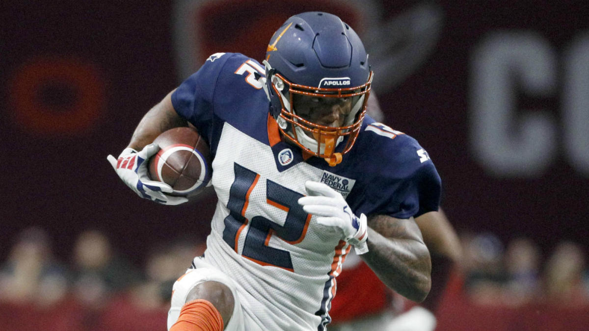 XFL Draft 2021: XFL Wide Receiver Prospects for 2021